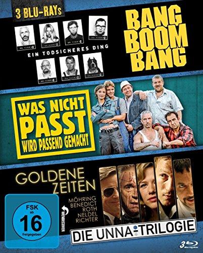 Bang Boom Bang - Was nicht passt - Goldene Zeiten (Die Unna-Trilogie) [Blu-ray]