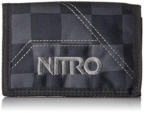 Nitro Wallet, Geldbörse, Geldbeutel, Portemonnaie, Münzbörse,  Checker,  10 x 14 x 1 cm, 1131-878000_1955, 60g