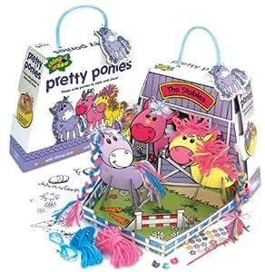 Chimp And Zee Pretty Ponies Craft Kit by Pressman Toys