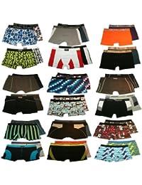 4er Pack Herren Boxershorts VIELE Variationen Retro Unterhosen Shorts in TOP QUALITÄT Größen M L XL XXL XXXL