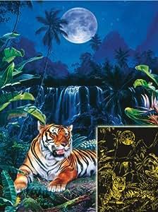 Ravensburger - Puzzle - Le Paradis Du Tigre - 1000 Pièces