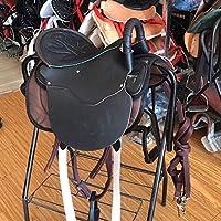 Rhinegold Bottes d/équitation en Cuir pour Enfant