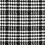 Fabulous Fabrics Mantelstoff Lurex – schwarz/Weiss —