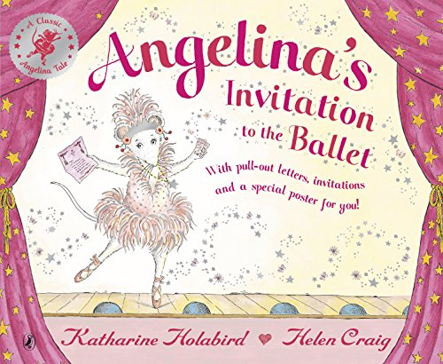 Angelina's invitation to the ballet