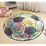 YHJ alfombra Almohadillas giratorias de ordenador de alfombra redonda ( Tamaño : 120*120cm )
