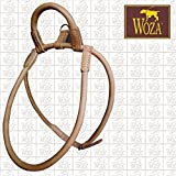 Woza Premium Chow-Chow Geschirr mit HANDSCHLAUFE Vollleder Rindleder Handmade Harness
