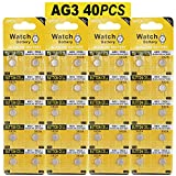 40 Stück AG3 LR41 1.5V Alkaline Knopfzelle Batterien ohne Quecksilber