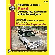 Ford Camionetas, Expedition y Lincoln Navigator Manual de Reparaci=n (Haynes Manuals)