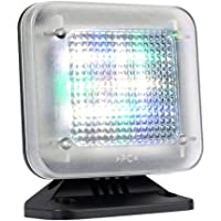 4VWIN Simulateur de télévision Sécurité à la maison Light Burglar Intruder Deterrent Chief Provention Dispositif de sécurité avec minuteur et capteur de lumière Fake TV