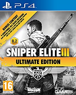 Sniper Elite III - Ultimate Edition (B00SAV0E16) | Amazon price tracker / tracking, Amazon price history charts, Amazon price watches, Amazon price drop alerts
