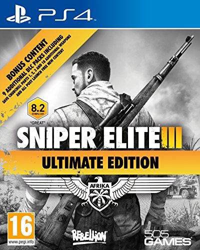 Sniper Elite 3 - Ultimate Edition (PS4) Best Price and Cheapest