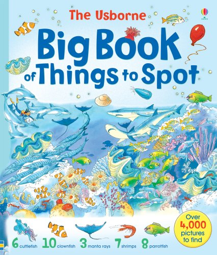 Big Book of Things to Spot (1001 Things To Spot) por Gillian Doherty
