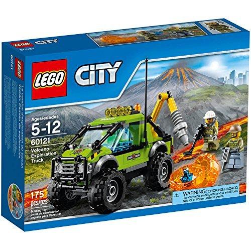LEGO City Volcano Explorers Volcano Exploration Truck Building Set, 60121 by BuildLand