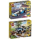 Lego Creator 3-in-1 2er Set 31072 31075 Ultimative Motor-Power + Outback-Abenteuer