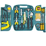 NIBEMINENT for 27 Pieces Repairing Hand Tools Set with Carry Box (LC8027)