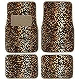 BDK Carpeted 4 Piece Mat Leopard Animal Print - Best Reviews Guide