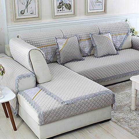 New day-Semplice e moderno cuscino del divano in inverno spesso antiscivolo cuscino del divano , C , 70*180cm