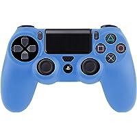 SMARDY Silicone Case Custodia Protettiva Azzurro per Playstation 4 PS4 Controller Joystick