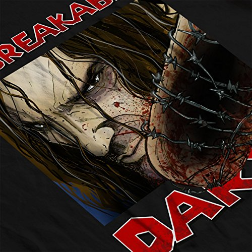 Daryl The Unbreakable The Walking Dead Men's Vest Black