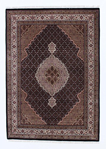 Tabriz Orientalische Teppiche (Indo Täbriz Royal Teppich Orientalischer Teppich 243x172 cm, Indien Handgeknüpft Klassisch)