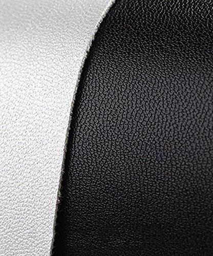 CHAOXIANG Pantofole Piatte Flip Flop EVA Toe Post Sandali Da Surf Nuovo Calzature Da Spiaggia Estiva ( Colore : Nero , dimensioni : EU37.5/UK4.5/CN38 ) Nero