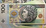 Tapeto Fototapete - Polnisch Geldnote Zloty - Vlies 254 x 184 cm (Breite x Höhe) - Wandbild Polen Note