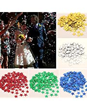 Generic colorful 6mm : NEW 6MM/10MM Star Sequined Confetti Wedding Party Birthday Celebrating Table Decoration Shine Romantic Sparkles