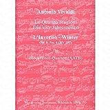 Concerto FA MINEUR OP 8/4RV 297F 1/25T 79(L Inverno–L'hiver)–arrangés pour flûte à bec Quartet–(AATB) [Notes/sheetm usic] Compositeur: VIVALDI ANTONIO