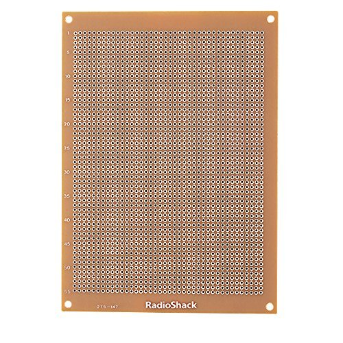 radioshack-grid-style-board-with-2200-holes-printed-circuit-board-by-radioshack