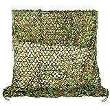 Filet De Camouflage,2X3M 210D Professionnel Armée Militaire Chasse Forêt Filet de Camouflable pour Camping , Soleil en Plein Air, Thème Parti Décoration, Voiture Couvre