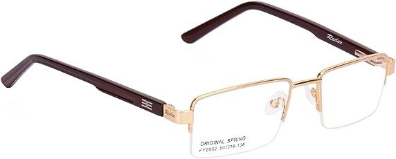 Redex Half Rim Spectacle Frames (Black,Jk320)