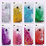 Premsons® Soft TPU Flowing Liquid with Stars Back Cover for iPhone 6 and iPhone 6S (Multicolour)