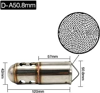 60mm Universal Für Motorrad Auspuffanlagen Katalysator DB Killer Schalldämpfer