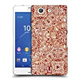 Head Case Designs Muster Mandala Doodle Ruckseite Hülle für Sony Xperia Z3 Compact / D5803