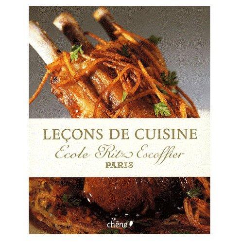 Leçons de cuisine : Ecole Ritz Escoffier