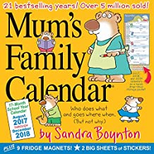 Mums Family Wall 2018 Calendar