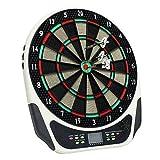 43cm Dartscheibe Elektronisch Sport Freizeit Elektronische Dartscheibe LCD mit Durchsichtig Schutzhülle mit 6 Dartpfeile für 1-8 Spieler e Dart