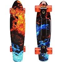 WonderTech - Mini skateboard per bambini Penny Board Cruiser Board per ragazzi, ragazze e ragazzi
