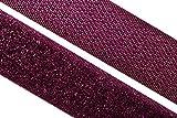 dalipo 17003 - Klettband zum annähen, 20mm, violett / lila