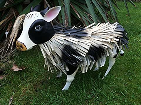 Large Metal Daisy Cow Garden/Home Ornament/Statue