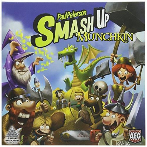 Alderac Entertainment ALD05508 - Brettspiele, Smash Up Munchkin (Munchkin-brettspiel)