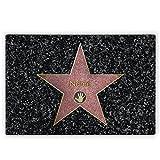 Herz & Heim® Glasbrettchen für Ihren persönlichen Star mit Namensaufdruck