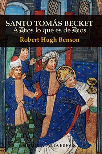 Santo Tomás Becket: A Dios lo que es de Dios (Colección Santos nº 11)