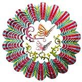Mobile à vent d'Iron Stop Motif 3D Papillon 3D 25 cm D6110-10