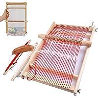 BangShou Métier à Tisser En Bois, Machine à Tricoter à la Main Bricolage,Kit de Métier Multi-Métier pour Débutants Et…