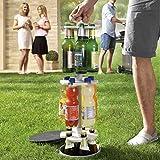 Flaschenkühler outdoor für Garten und Terrasse, Erdloch-Bier-Kühler, versenkbarer Getränkekühler ( einfach einbuddeln und immer kühle Getränke in der eigenen Hopfenhöhle parat haben )