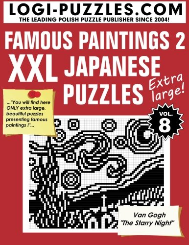 XXL Japanese Puzzles: Famous Paintings 2: Volume 8