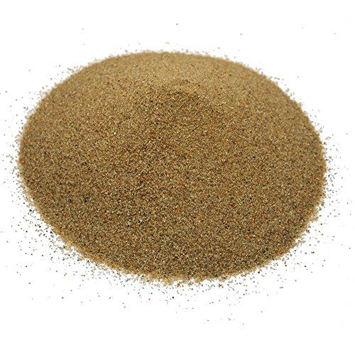 Hochwertiger deutscher Terrarium Sand / Aquarium Sand NATUR, Körnung 0,2-0,6 mm, 1,5 Kg Beutel ca. 1 Liter