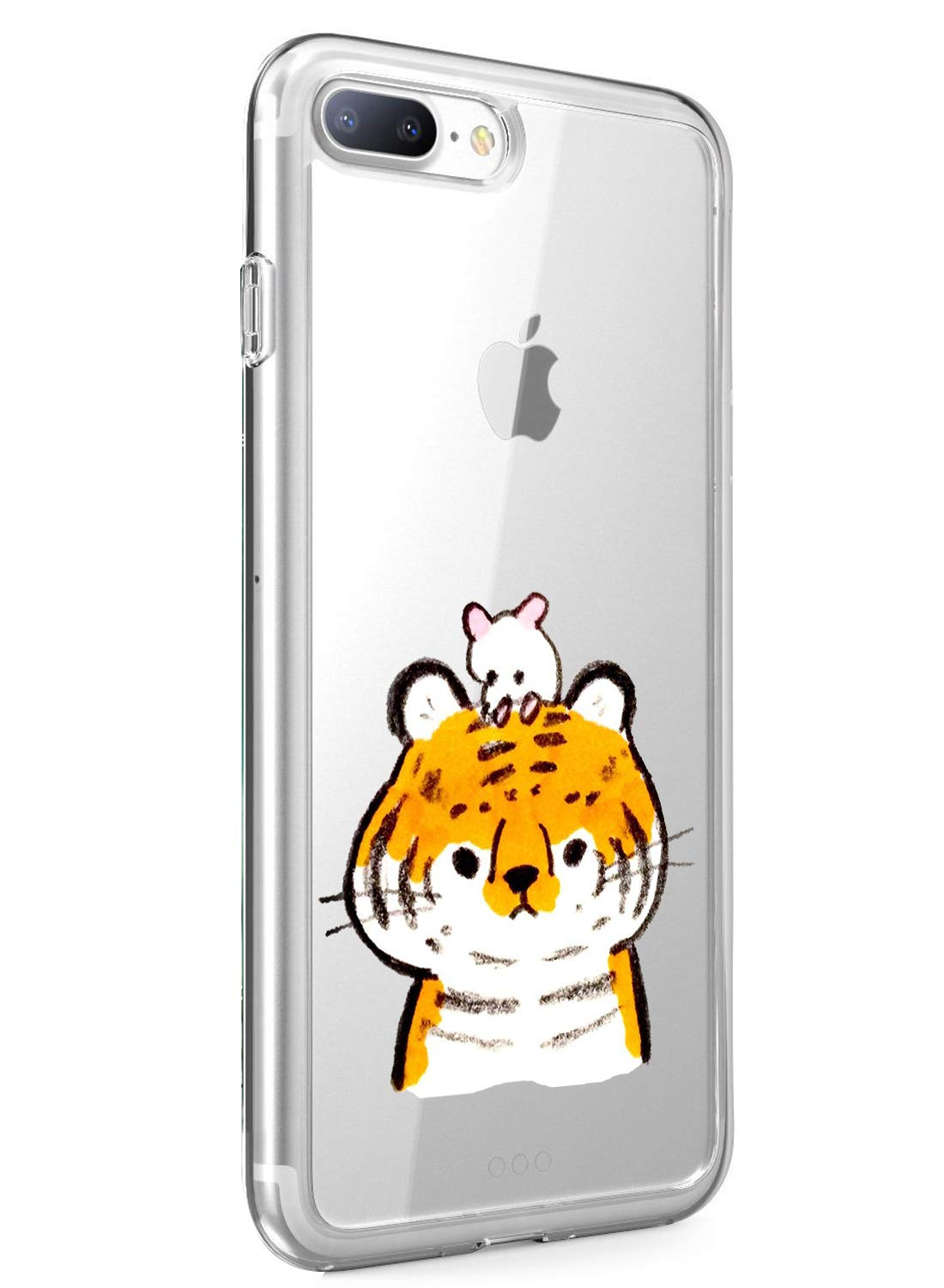 Oihxse Case Compatible with iPhone 5/5S/SE 4 inch Clear with Chic Design, Soft TPU Silicone Ultra Thin Slim Fit [Shockproof] [Anti-fingerprint] Crystal Transparent Case Cover Bumper Skin, Tiger Oihxse ✨【SLIM FIT】ONLY compatible with iPhone 5/5S/SE without bubbles, bubbles smudges, slippy and clinging, which provide a great hand feel & comfortable grip, easy put in and take off from pockets. ✨【CRYSTAL CLEAR】Cute and stylish pattern prints on the crystal transparent slim IPhone 5/5S/SE case, not only shows off the original beauty but adds more chic, fashion and elegant sense, makes you stand out from crowd and eye-catching. ✨【PREMIUM MATERIAL】Made from nontoxic and tasteless flexible TPU material, non fade and peel off. It can resist Iphone 5/5S/SE bumps, drops, scratches, impacts, shocks and fingerprint. 1