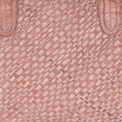 Liebeskind Berlin Henkeltasche Muro, Sheep Woven Macaque Pink